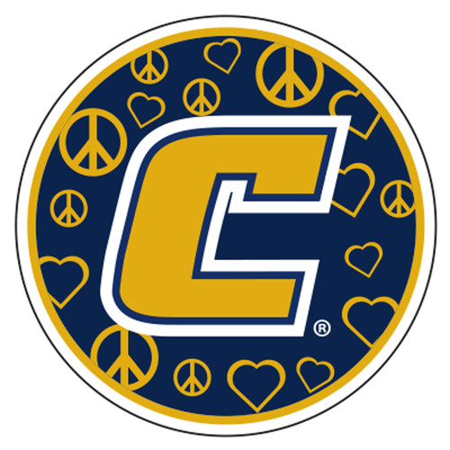 Tennessee - Chattanooga Decal - PEACE LOVE C DECAL