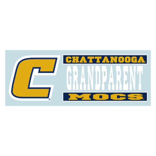 Tennessee - Chattanooga Decal - C MOCS GRANDPARENT DECAL