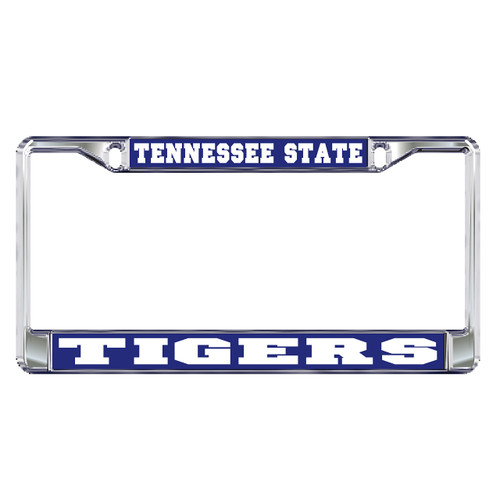 Tennessee State Plate Frame (DOMED TSU METAL PLATE FRAME (28042))