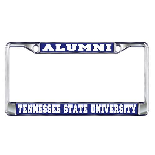 Tennessee State Plate Frame (DOMED TSU ALUMNI PLATE FRAME (28043))