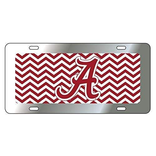 Alabama Crimson Tide Tag (CHEVRON STRIPE A TAG)