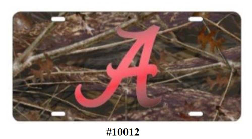 Alabama Crimson Tide Tag (Camo)