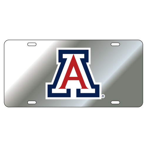 Arizona Wildcats Tag (LASER SIL DOMED BLU/RED A TAG (28500))