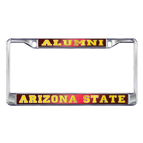 Arizona State Sun Devils Plate Frame (DOMED MIR AZ ST ALUMNI FRAME_26607)