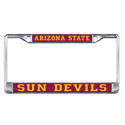 Arizona State Sun Devils Plate Frame (DOMED AZ ST SUN DEVILS FRAME_26604)