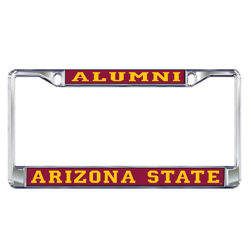 Arizona State Sun Devils Plate Frame (DOMED AZ ST ALUMNI FRAME_26605)