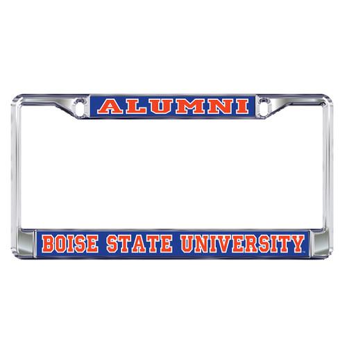 Boise State Broncos Plate Frame (DOMED BOISE ST ALUMNI FRAME (46503))