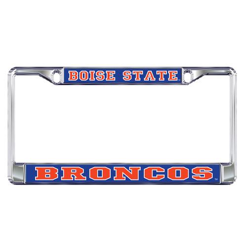 Boise State Broncos Plate Frame (DOMED BOISE ST BRONCOS FRAME (46502))