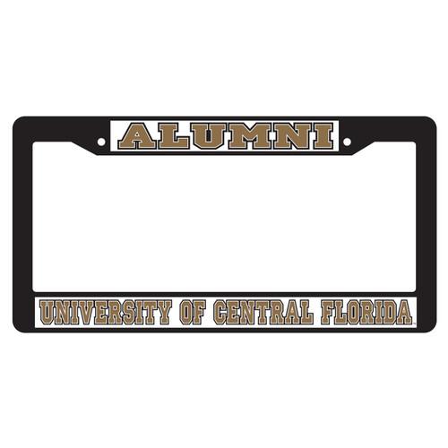 Central Florida Golden Knights Plate Frame (BLK PLATE FRAME UCF ALUMNI (29018))