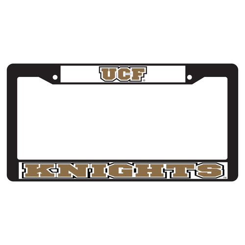 Central Florida Golden Knights Plate Frame (BLK PLATE FRAME UCF KNIGHTS (29016))