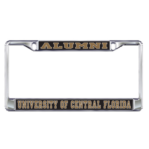 Central Florida Golden Knights Plate Frame (DOMED UCF ALUMNI PLATE FRAME (29040))