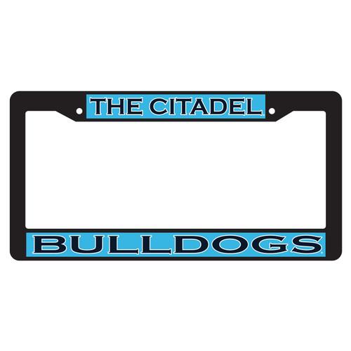 Citadel Bulldogs Plate Frame (BLK PLATE FRAME CITADEL BULLDO (31531))