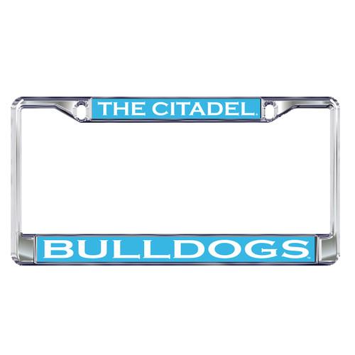 Citadel Bulldogs Plate Frame (DOMED CITADEL PLATE FRAME (31538))