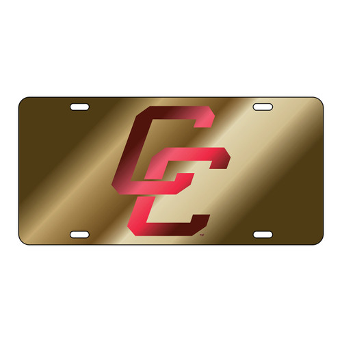 Charleston Cougars Tag (LASER GLD/MAR CC TAG (20607))