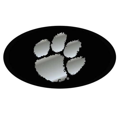 Clemson Tigers Hitch Cover (BLK/SIL CLEMSON HITCH COVER (14147))