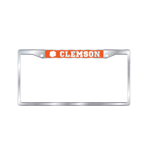 Clemson Tigers Plate Frame (MIR DOMED TOP ONLY CLEM FRAME (14165))