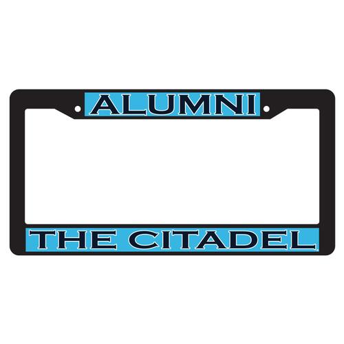Citadel Bulldogs Plate Frame (BLK PLATE FRAME CITADEL ALUMNI (31533))