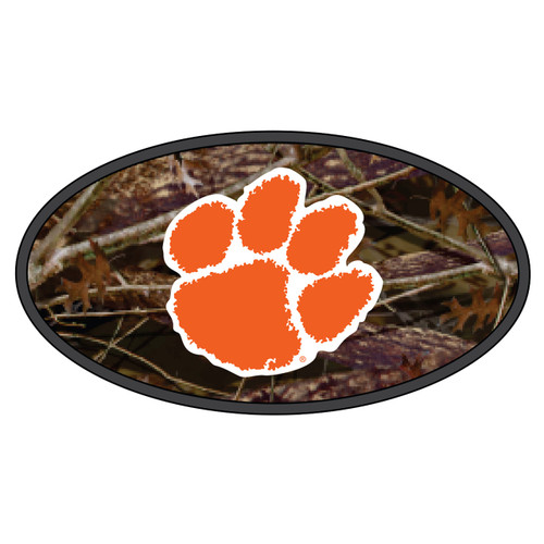 Clemson Tigers Hitch Cover (DOMED CAMOUFLAGE PAW HITCH (14136))