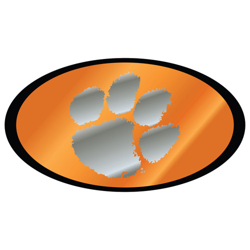 Clemson Tigers Hitch Cover (MIRROR DOMED CLE HITCH COVER (14146))