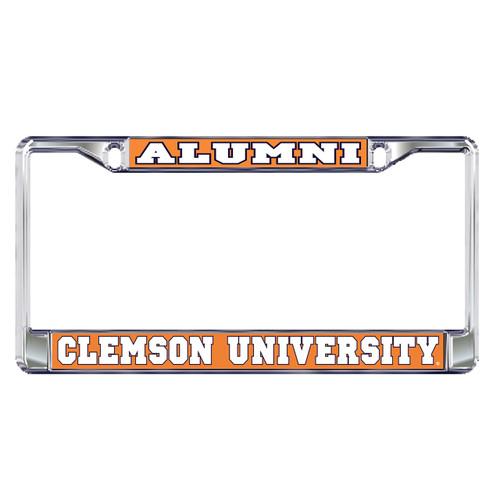 Clemson Tigers Plate Frame (DOMED CLE ALUMNI PLATE FRAME (14122))