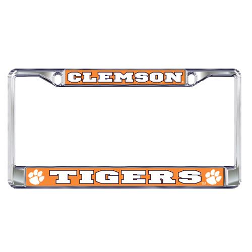 Clemson Tigers Plate Frame (DOMED CLEMSON PLATE FRAME (14121))