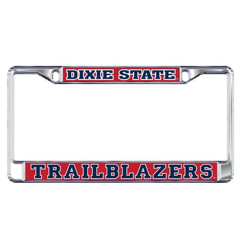 Dixie State Plate Frame (DIXIE STATE TRAILBLAZERS FRAME_47060)