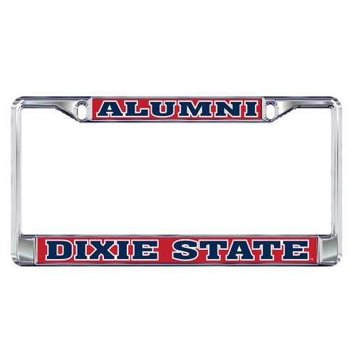 Dixie State Plate Frame (DIXIE STATE ALUMNI FRAME_47001)