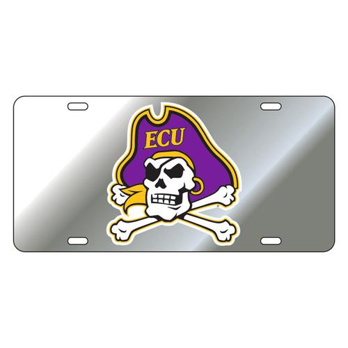 East Carolina Pirates Tag (SIL/REF PIRATE HEAD TAG (16009))