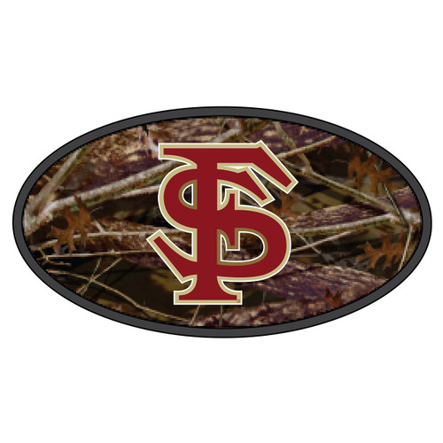 Florida State Seminoles Hitch Cover (DOMED CAMOUFLAGE FS HITCH (17140))