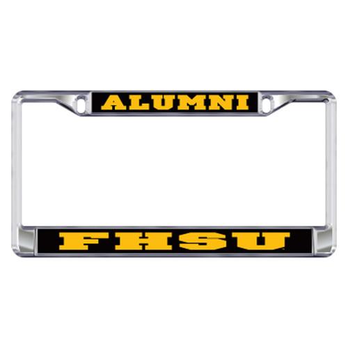 Fort Hays State Plate_Frame (DOMED FHSU ALUMNI PLATE FRAME (98108))