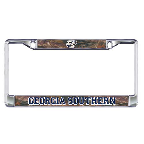 Georgia Southern Eagles Plate Frame (DOMED CAMO GS PLATE FRAME (19594))