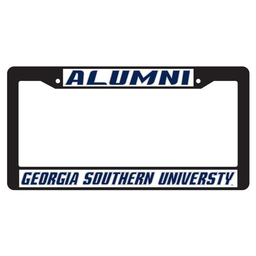 Georgia Southern Eagles Plate Frame (BLK PLATE FRAME GA SOUTH ALUMN (19527))