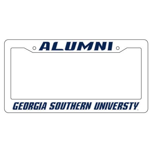 Georgia Southern Eagles Plate Frame (WHT PLATE FRAME GA SOUTH ALUMN (19528))