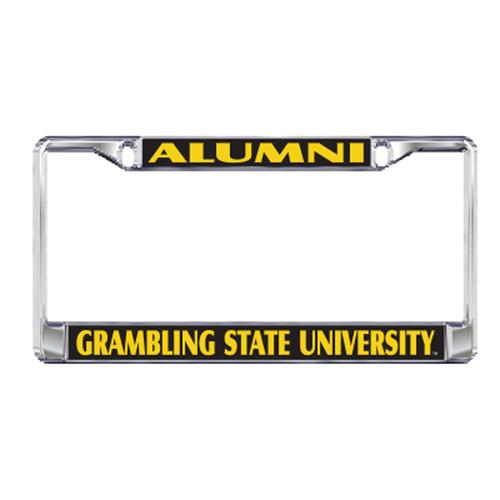 Grambling State Plate_Frame (DOMED PLATE FRAME GSU ALUMNI (42052))