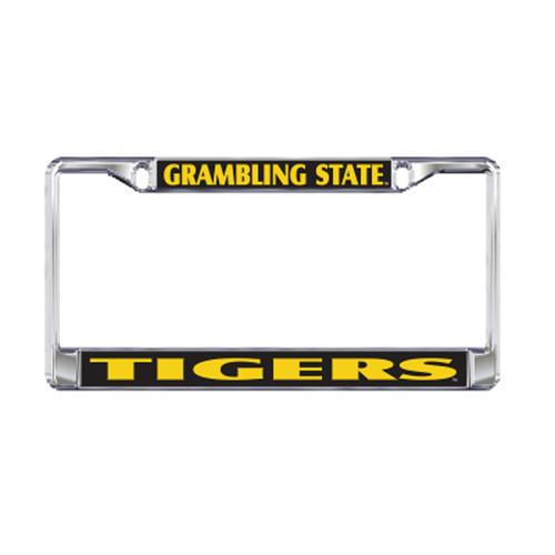 Grambling State Plate_Frame (DOMED PLATE FRAME GSU TIGERS (42051))