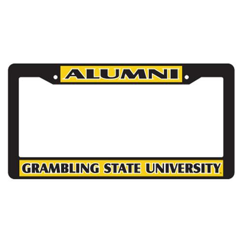 Grambling State Plate_Frame (BLK PLATE FRAME GSU ALUMNI (42044))