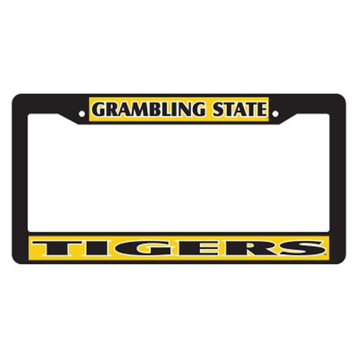 Grambling State Plate_Frame (BLK PLATE FRAME GSU TIGERS (42042))