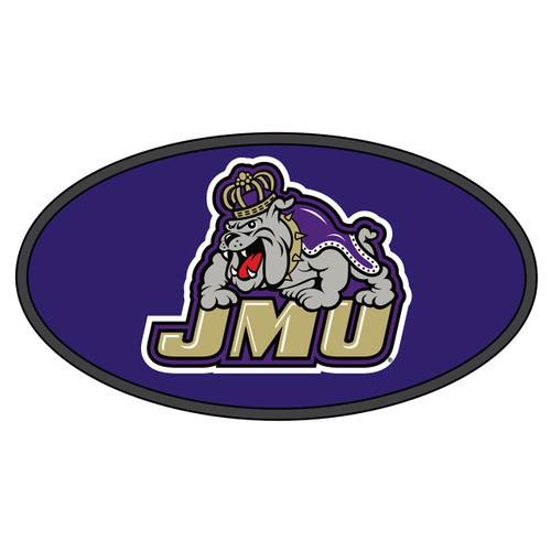 James Madison Hitch Cover (DOMED JMU BULLDOG HITCH COVER (24547))