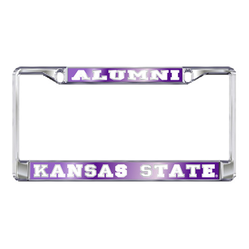 Kansas State Plate_Frame (MIR DOMED K-STATE ALUMNI FRAME (21143))