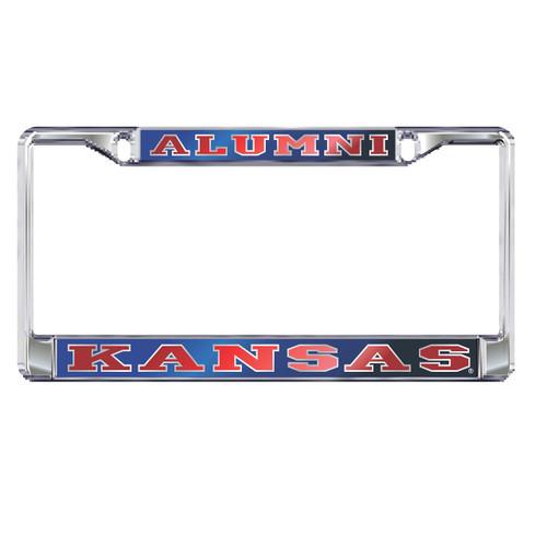 Kansas Plate Frame (MIR DOMED KANSAS ALUMNI FRAME (19132))