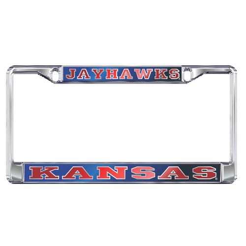 Kansas Plate Frame (MIR DOMED KANSAS PLATE FRAME (19131))
