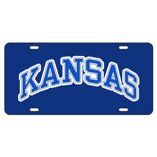 Kansas Tag (BLUE REF KANSAS TAG (19039))