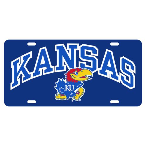Kansas Tag (BLUE REFL KANSAS JAYHAWK TAG (19015))