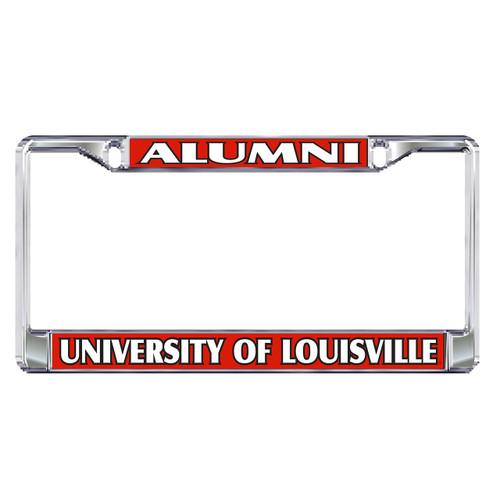 Louisville Plate Frame (DOMED LOUISVILLE ALUM METAL FR (36535))