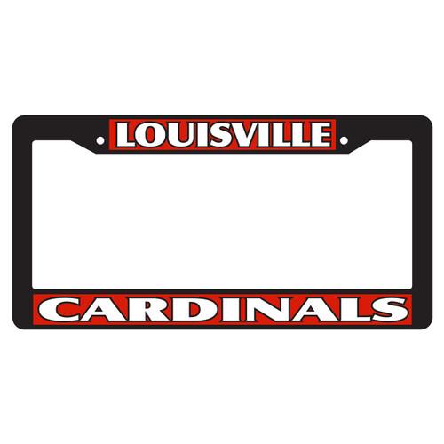 Louisville Plate Frame (BLK PLATE FRAME LOUIS CARD (36529))