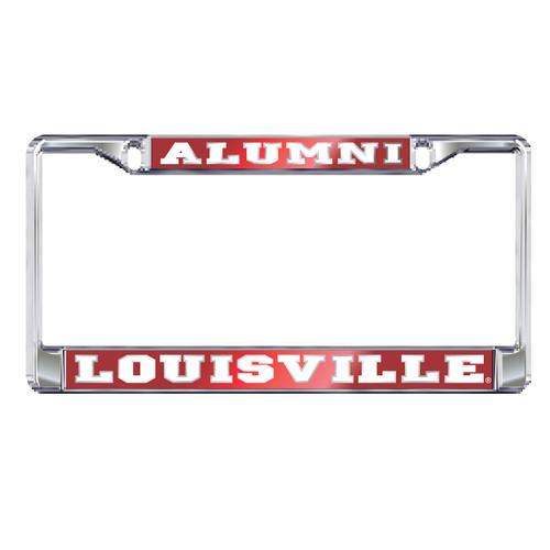 Louisville Plate Frame (MIR DOMED LOUISVILLE ALUMNI FR (36563))