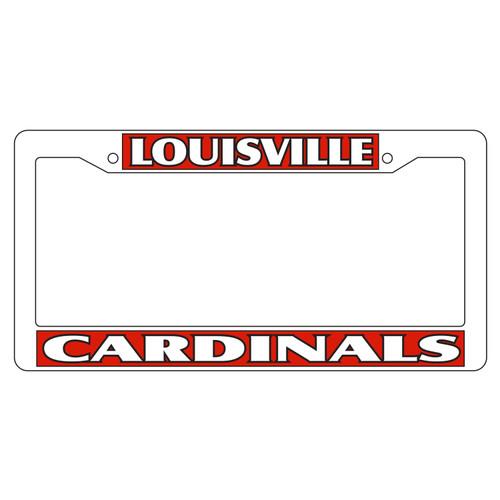 Louisville Plate Frame (WHT PLATE FRAME LOUIS CARD (36530))