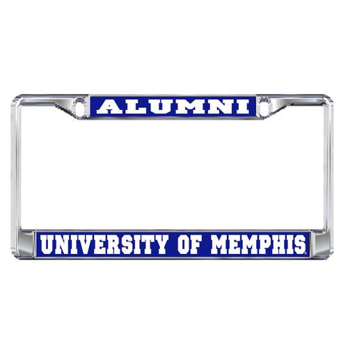 Memphis Plate Frame (DOMED MEMPHIS ALUMNI PLATE FRA (22094))