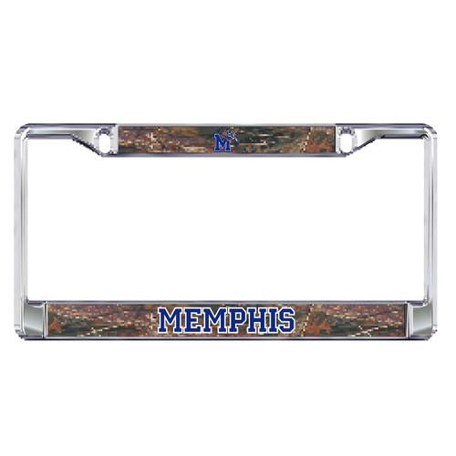 Memphis Plate Frame (DOMED CAMO MEM PLATE FRAME (22117))