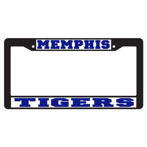 Memphis Plate Frame (BLACK PLATE FRAME MEM TIGERS (22078))